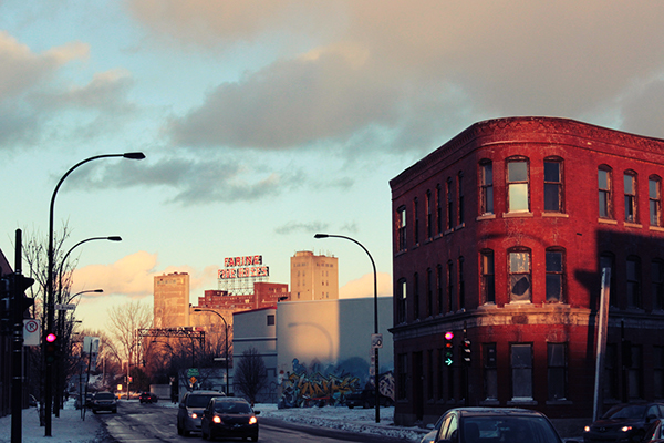 photo city lights