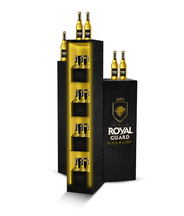 Black Royal Royal Guard Black Label on