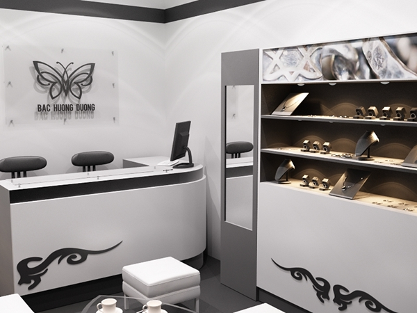 Small Silver Jewellery Store On Behance