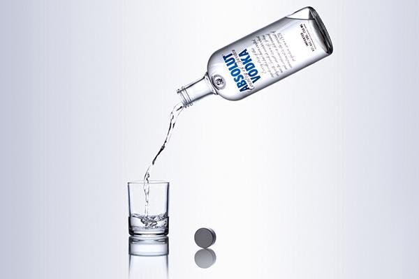 alcohol alcohol brand brand Absolut vodka Vodka product Product Photography still life Matt Geeling matt geeling studio