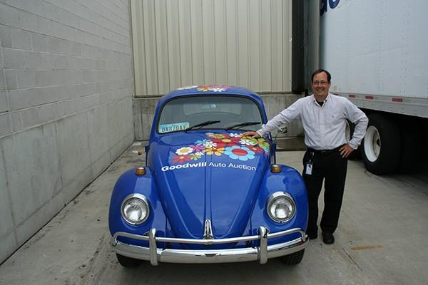 Goodwill Auto Auction 67 Beetle Vinyl Wrap on Behance