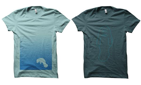 tshirts manatees florida awesome
