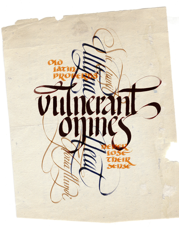 Calligraphy Unlimited The Labelmaker On Behance