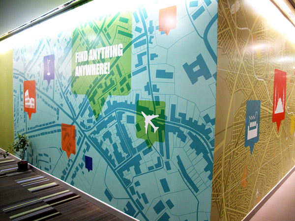 Google Maps Office on Behance