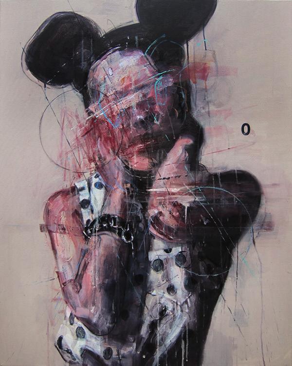 DH014 acrylic on canvas 90.9x72.7cm