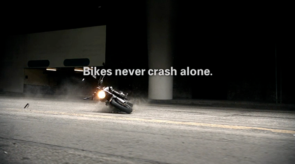 motorcycle ghost bikes Slow motion