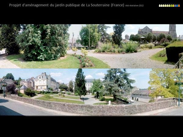 Propjet d 39 am nagement du jardin publique de la souterra on for Jardin publiques