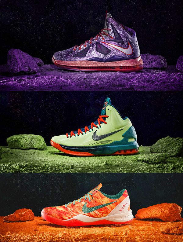online retailer 16cf0 a3afd Nike Basketball Area 72 Collection on Behance