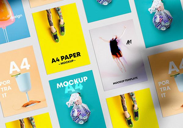 40 Editable Mockups (PSD)
