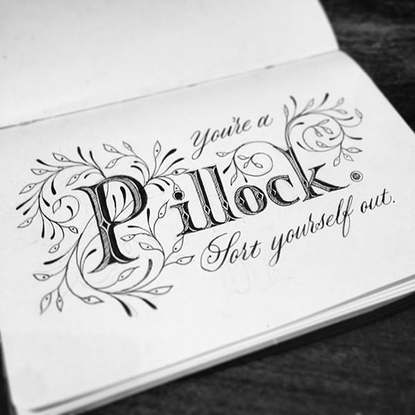 Break Bad News Gently With Calligraphy On Behance