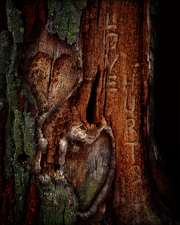 Tree  Love hurts scratch effects atmosphere