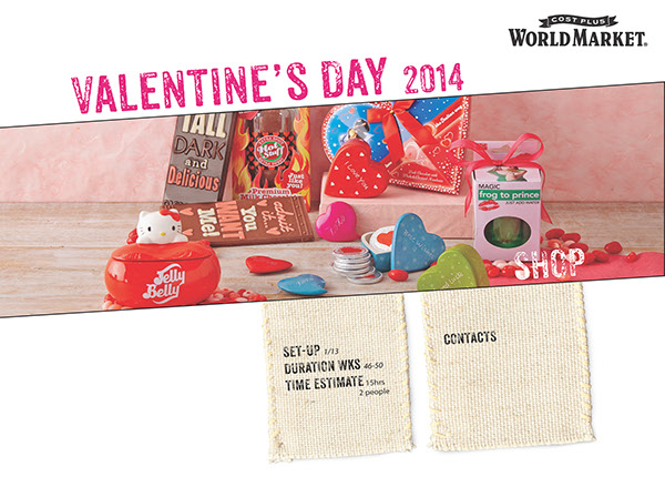 Cpwm Valentine S Day Visual Merchandising Guidelines On Behance