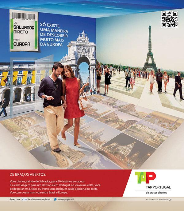 CONCEITO DE CAMPANHA   TAP PORTUGAL on Wacom Gallery a3a511e21a