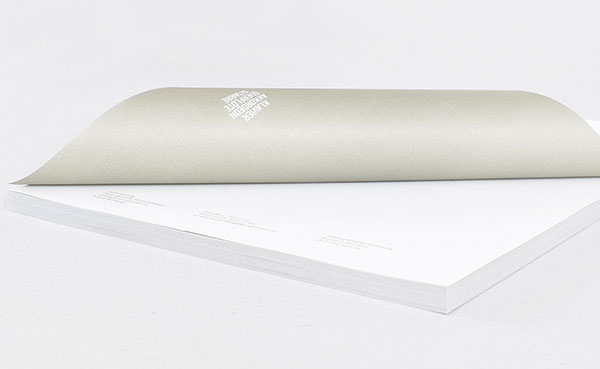 minimal Uncoated paper Stationery grey Education logo