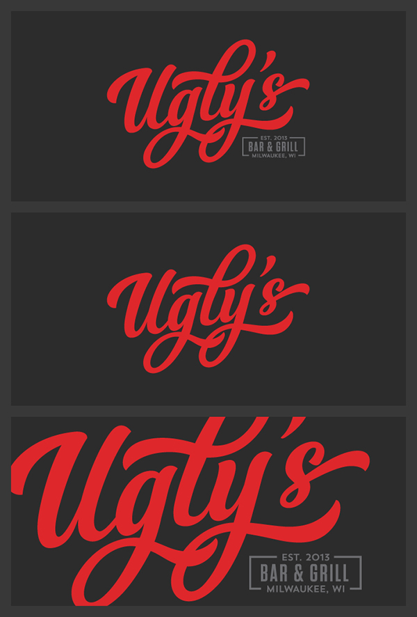 Ugly\'s Bar & Grill | Milwaukee, Wisconsin on Behance