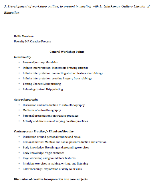outline lesson plan example