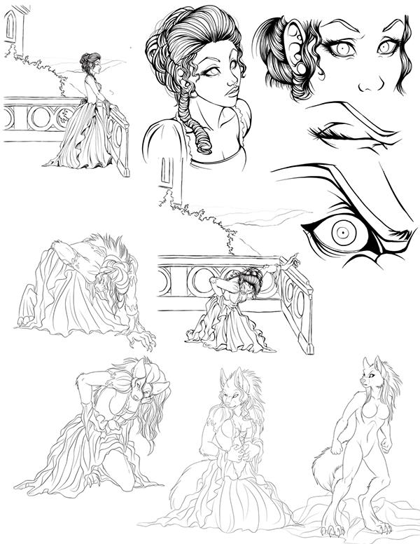 Werewolf Woman Transformation Century Woman Transforming