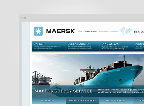 case analysis for maersk group Maersk group digital storytelling the maersk group wanted a more natural way to talk to their audiences that would make data more meaningful and get straight to the.