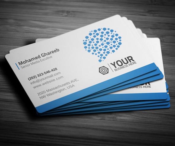 Creative Social Media Business Card on Behance