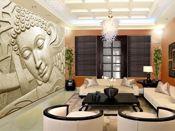 appealing zen living room design | The zen room on Behance