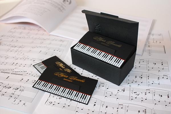 Piano teacher business card on behance colourmoves