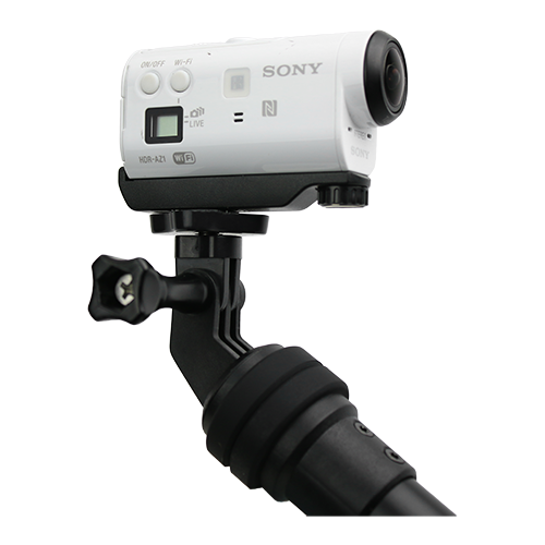 d8331403e69d67 ... can extend up to 30 inches to capture the perfect angles when in  action. With the Power Pole, you'll never miss a photo op because of a dead  battery.