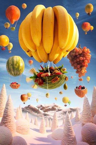 Foodscapes  Food Landscapes  Food Art Foodscape Carl Warner food art