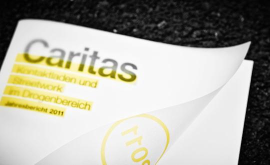 annual report  caritas publishing   corporate publishing Corporate Design infographics