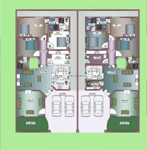Home Design In Pakistan 6 Marla: URBAN DESIGN OF MASKAN GARDENS @C 17 ...