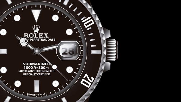 Vector Rolex on Behance