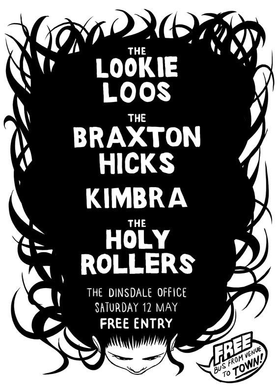 gig Show Event poster