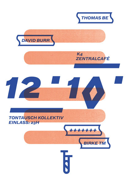 Tontausch Kollektiv poster Event