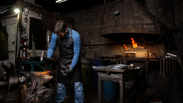 A day at the forge