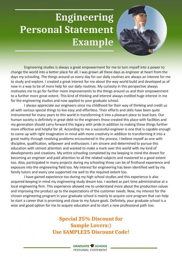 sample personal statement engineering