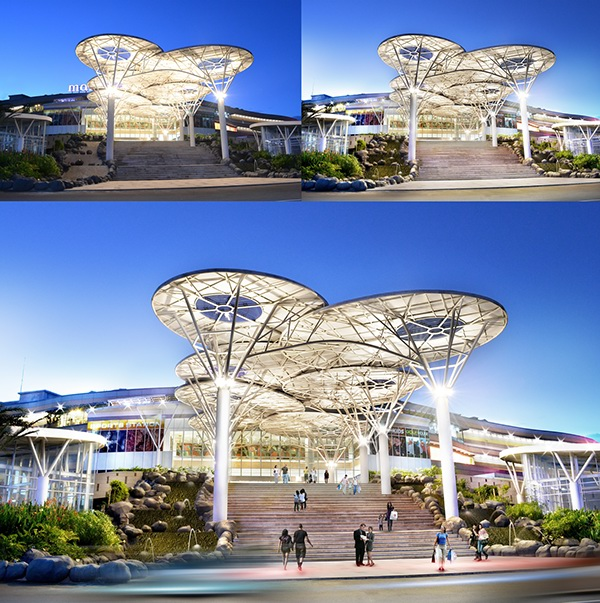 Photography mall alam sutera on behance mall alam sutera main entrance front view thecheapjerseys Image collections