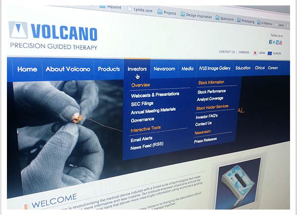 Volcano Corporation health industry Sales Sheets Promotional cardiovascular