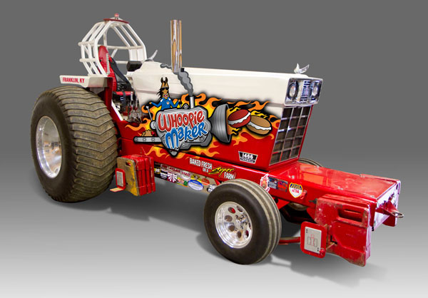 Tractor Pull Artwork : Pulling tractor graphics on behance
