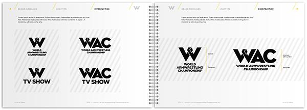 wac world armwrestling Championship sport identity ID identyfikacja wizualna Gdansk poland polska warsaw