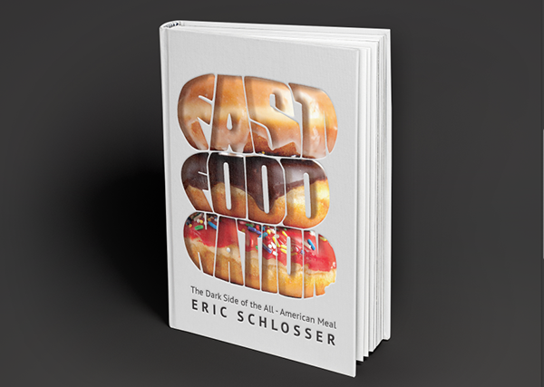Fast Food Nation Book Cover : Fast food nation on behance