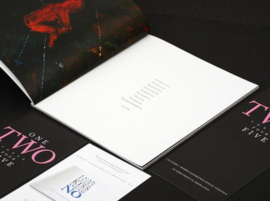 print brochure art Catalogue art book women
