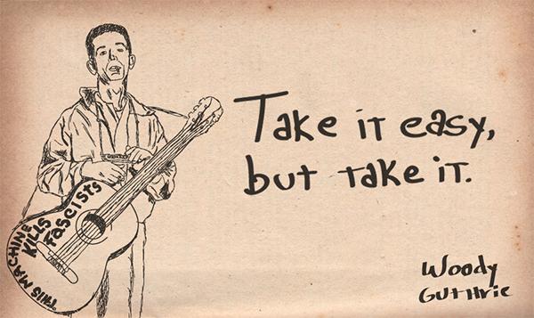 Woody Guthrie Drawings Woody Guthrie 2012