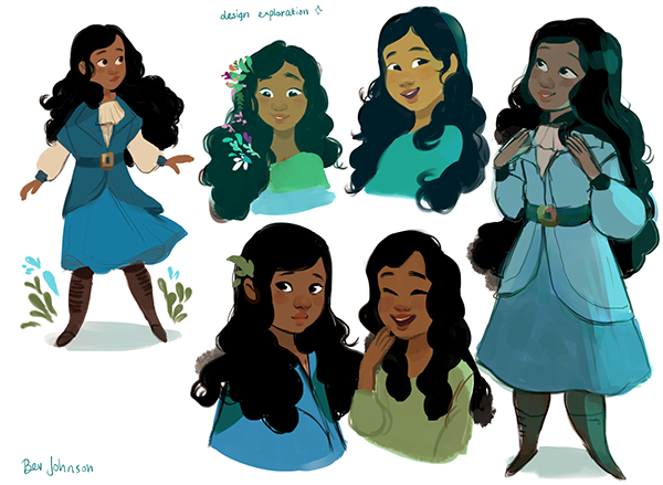 Character Design Interview : Character design winter on risd portfolios