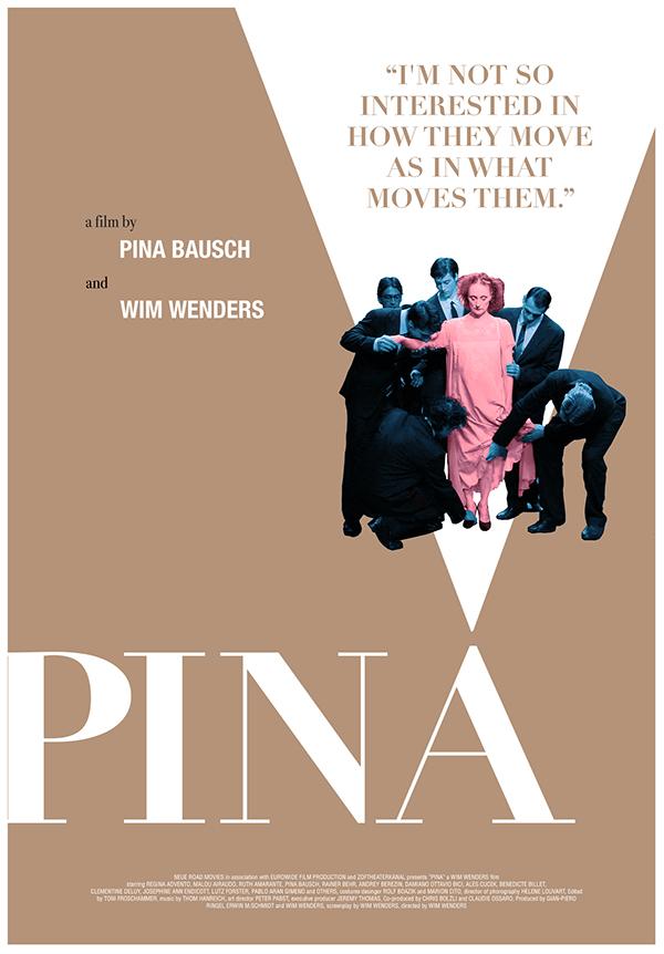 Pina Design pina poster remake on saic portfolios