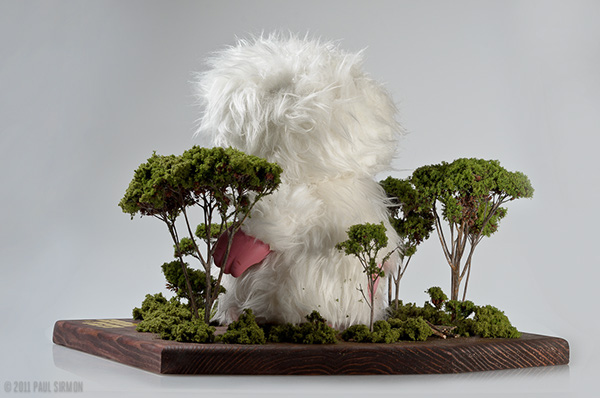 yeti vinyl toys toy trees Tree