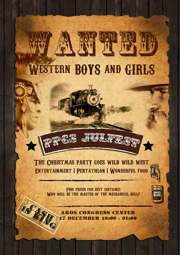 Wild Wild West poster on Behance