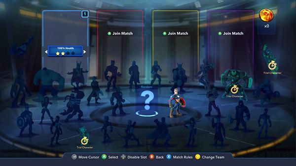 Disney Infinity 3 0 MARVEL Battlegrounds UI on Pantone Canvas Gallery