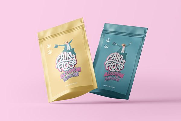 Campaña de lanzamiento para la marca Fairy Floss