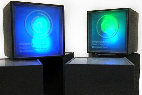 award trophy Arduino light interaction