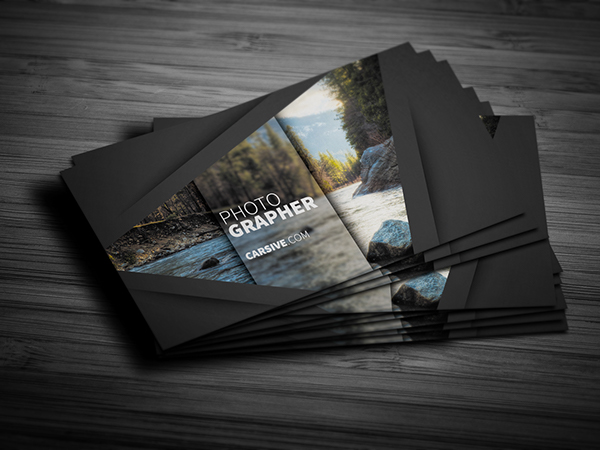 Creative business card template freebie on behance flashek Image collections
