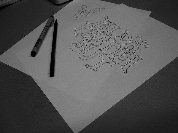 lettering type handmade HAND LETTERING